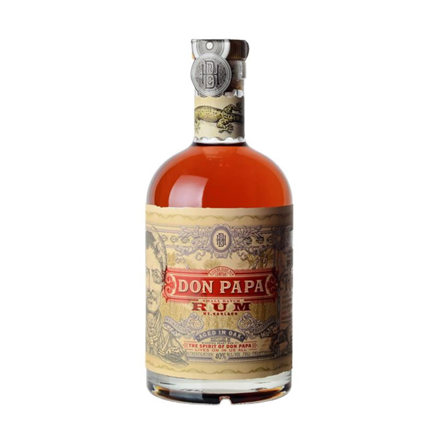 Don Papa 7 Years Rum Regular Canister  70 cl