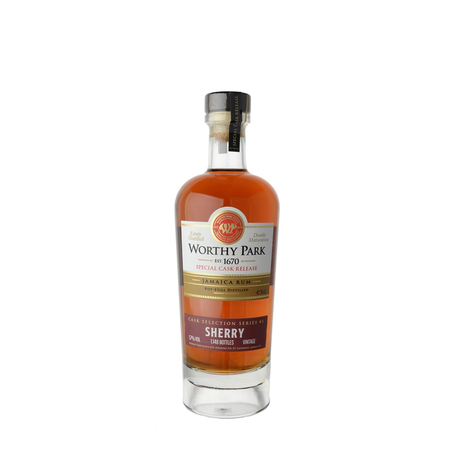 Worthy Park Rum Sherry Cask Finish 2013 70 cl
