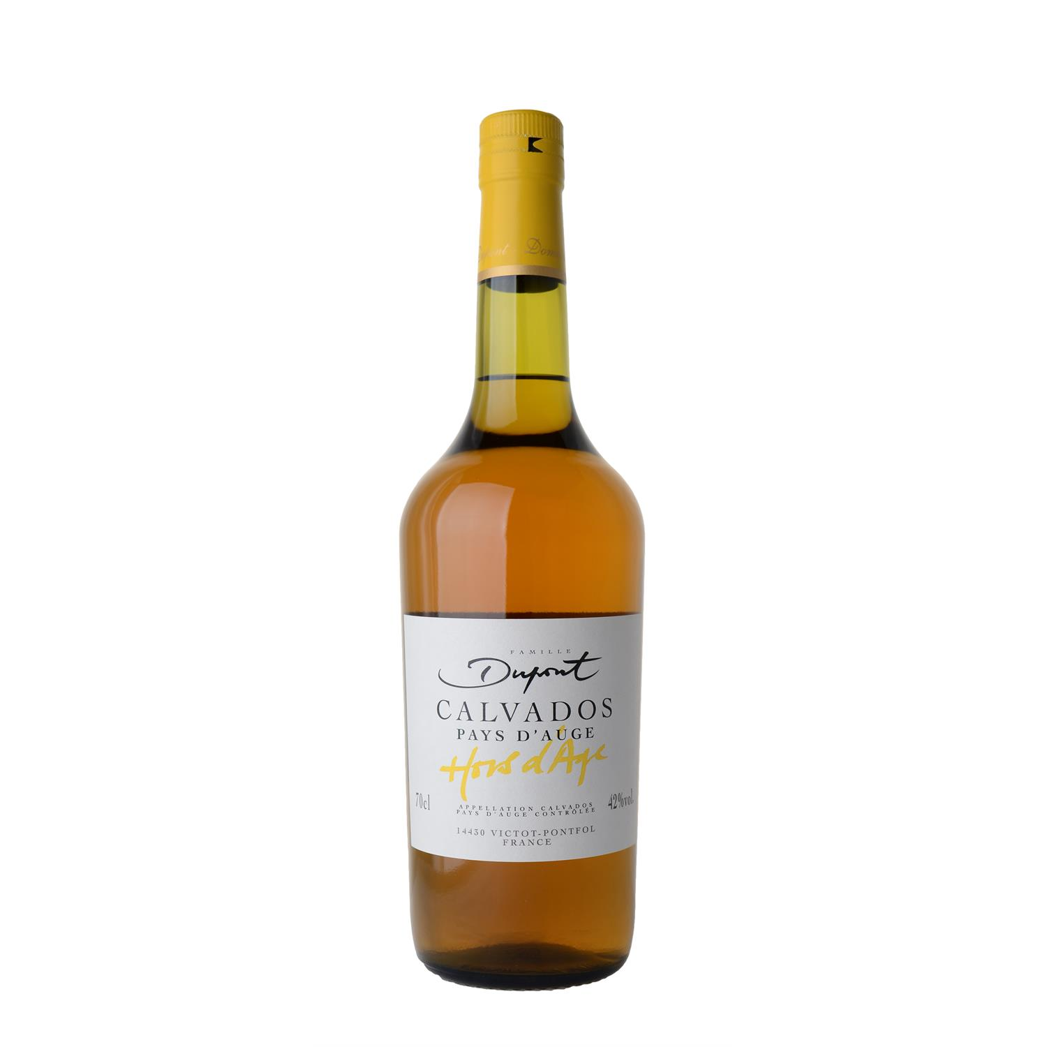 Calvados Dupont Hors d' Age  6 yrs 70 cl