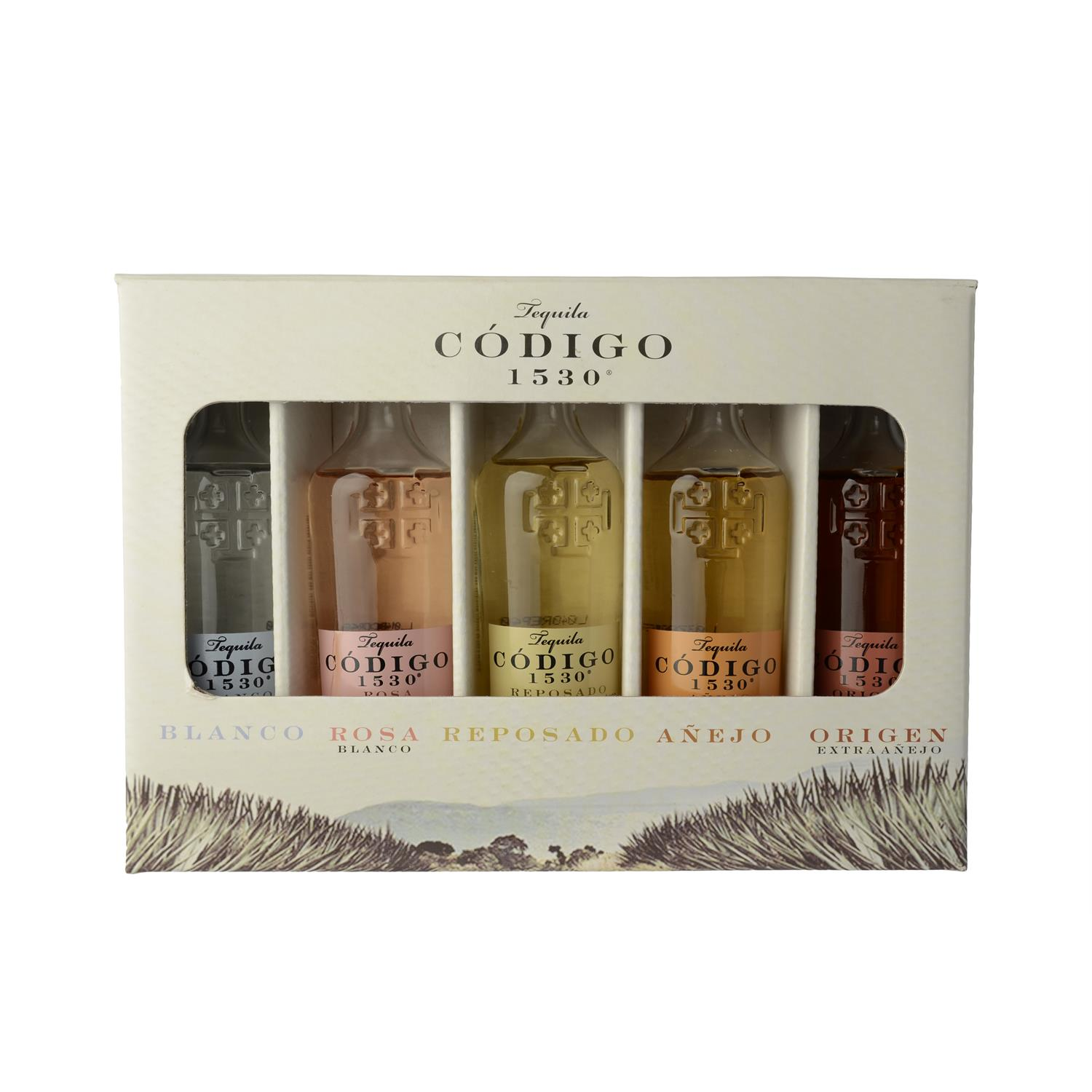Codigo Tequila 1530 Miniatures 5x50ml  25 cl