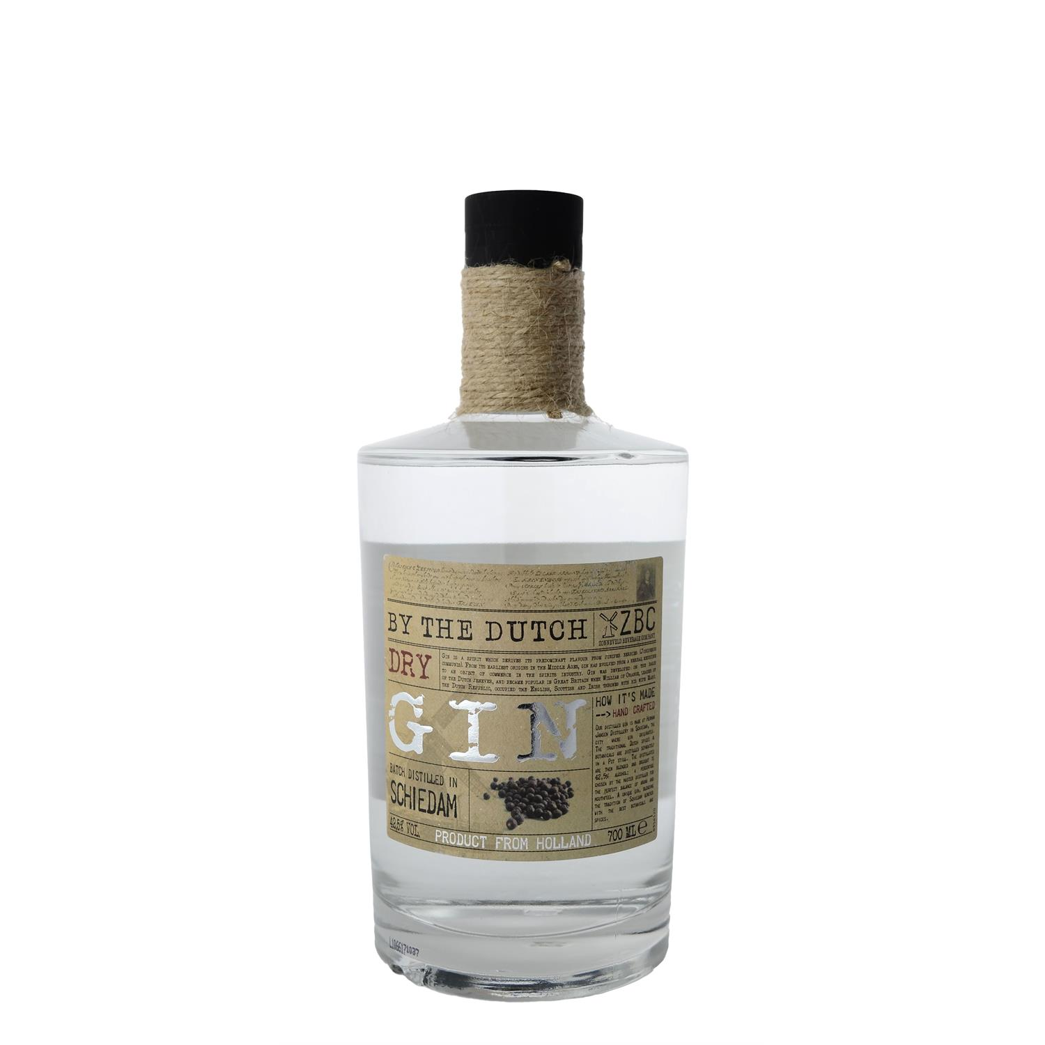 By the Dutch Dry Gin  70 cl